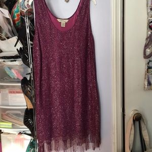 Purple Metallic Dress. 22/24 Lane Bryant